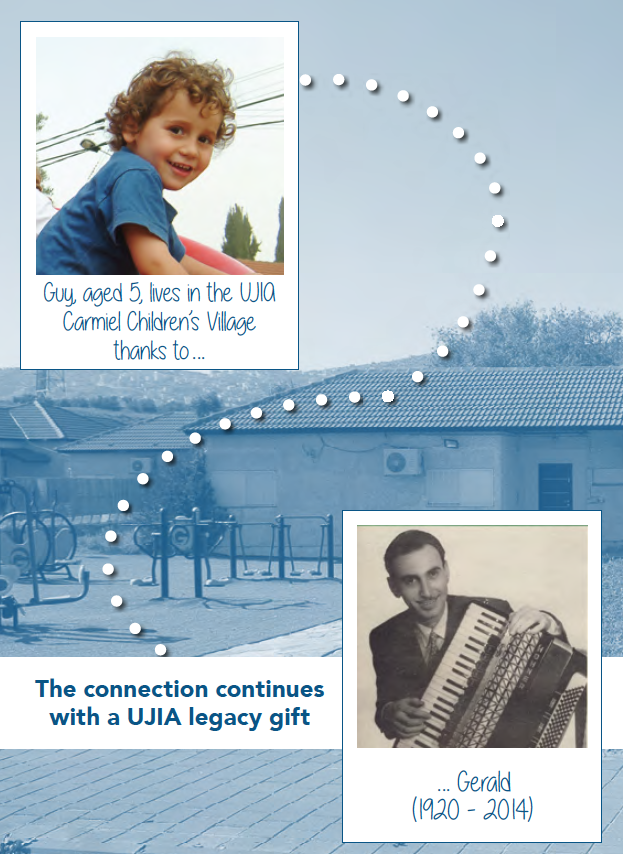 The Connection Continues with a UJIA Legacy Gift